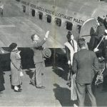 1930-00-00 PHOTO KNILM PLANE DEPARTURE