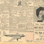 The Telegraph Sydney newspaper reports the fatal crash of De Uiver -1934 cont. page 1