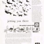 BP advertisement case study KLM - March 1959