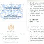 Celebrations Royal Visit Prince Alexander and Princess Maxima November 2006