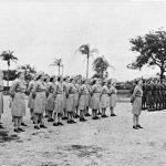 Dutch and American service women at Yeronga Camp Brisbane 1943
