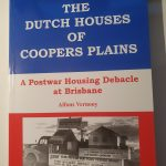 Cover book on Dutch Houses in Coopers Plains