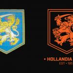 Photo - logos Hollandia-Inala- and Brisbane Lions