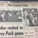 Newspaper article Hollandia - Inala Football Club Brisbane