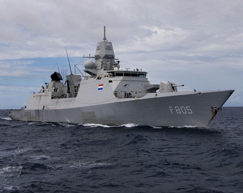 Dutch warship participates in Australian naval exercise