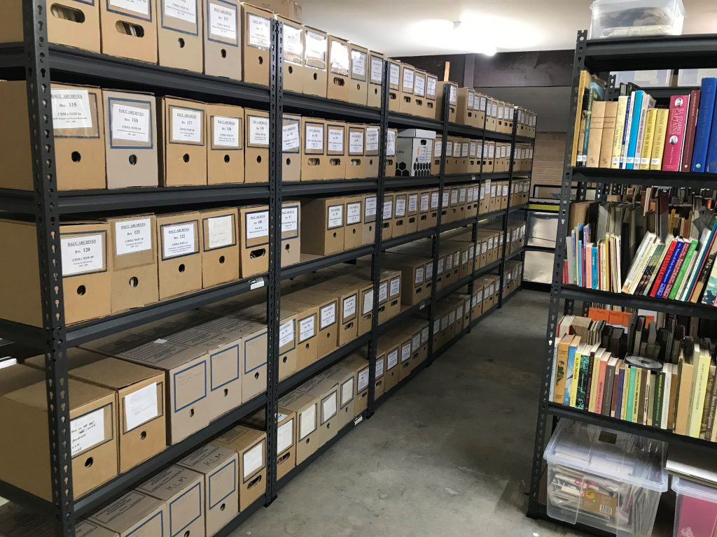 DACC Paper-based ARCHIVES