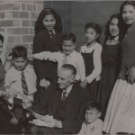 Annie O'Keefe and her familie